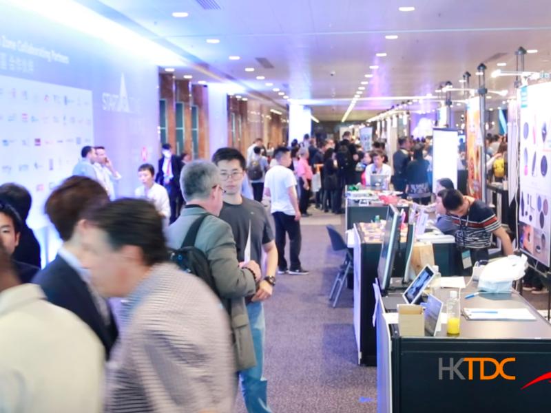 HKTDC Startup Zone